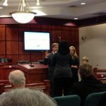 Taft Matney was sworn in Jan. 7 to Mauldin City Council.