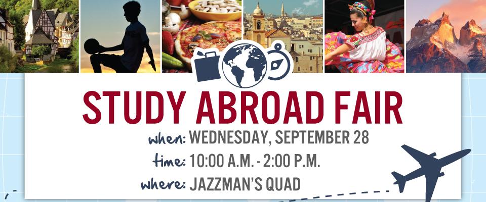 1. Study Abroad Fair